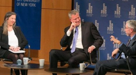 "Professor Gornick to Moderate ""Inequality in NYC and Beyond"" with Mayor Bill de Blasio and Paul Krugman"