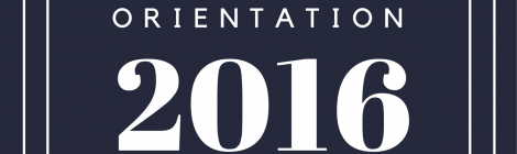 Aug 18: New Student Orientation