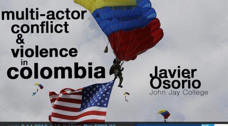 9/14: Javier Osorio (John Jay College, CUNY)