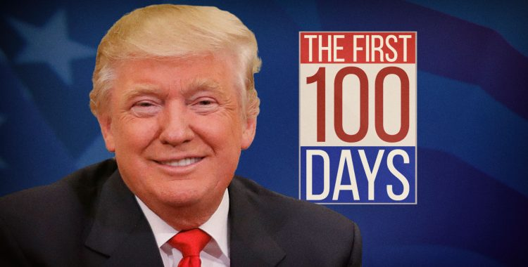 """This is why the first 100 days is a 'ridiculous standard' for judging presidents"" - David R. Jones"