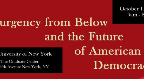 Insurgency from Below and the Future of American Democracy Conference