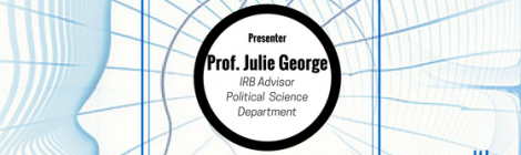 Professional Development Workshop ft. Professor Julie George (10/12/17)