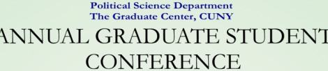 Political Science Department Annual Graduate Student Conference