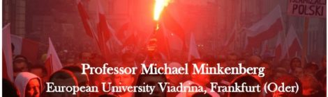 11/13/18 - The Radical Right in Europe ft Prof. Michael Minkenberg