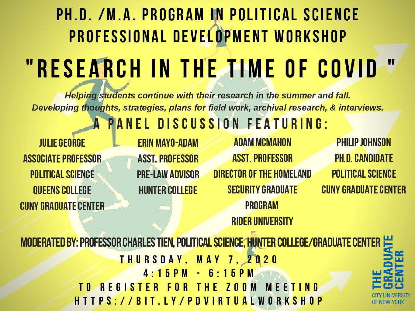 Professional Development Workshop: Research in the time of COVID
